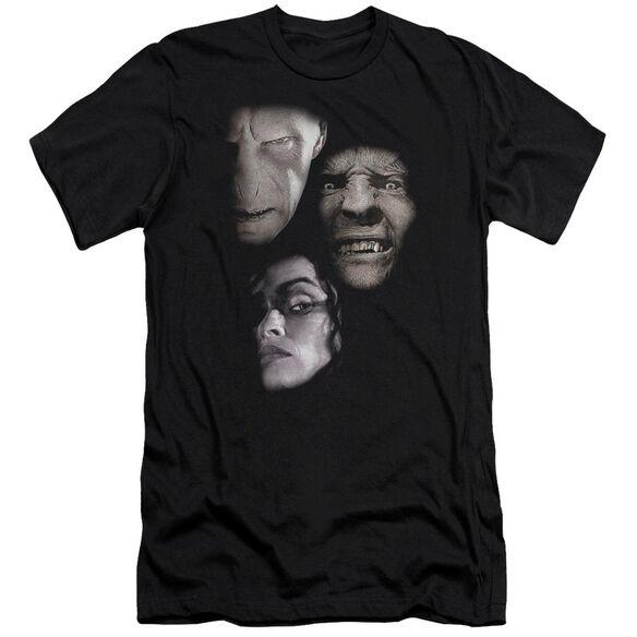 Harry Potter Villian Heads Short Sleeve Adult T-Shirt
