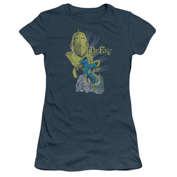 Dc Dr Fate Short Sleeve Junior Sheer T-Shirt