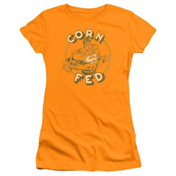 Superman Corn Fed Premium Bella Junior Sheer Jersey