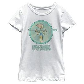 Steven Universe Pearl Youth Girls Shirt