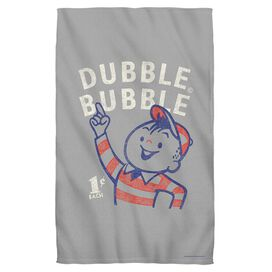 Dubble Bubble Pointing Face Hand Towel