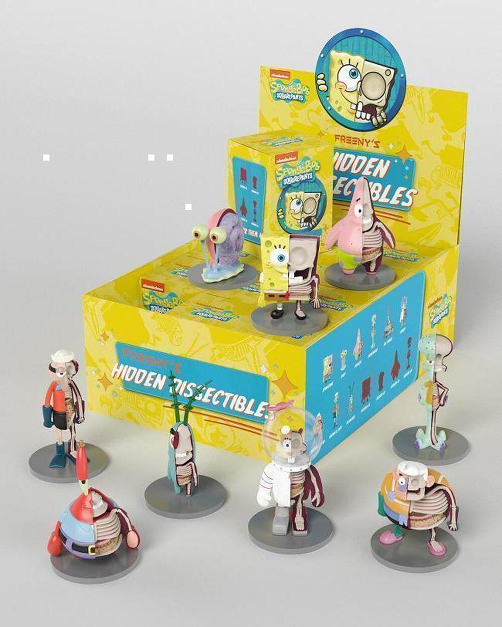XXRAY SpongeBob SquarePants Hidden Dissectibles Blind Box | FYE