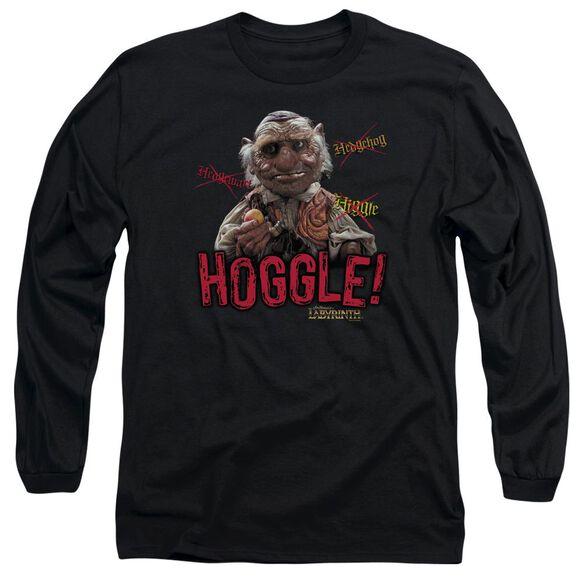 Labyrinth Hoggle Long Sleeve Adult T-Shirt