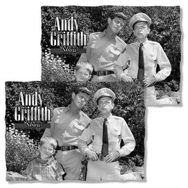 Andy Griffith Lawmen (Front Back Print) Pillow Case White