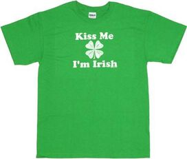 Kiss Me Irish T-Shirt