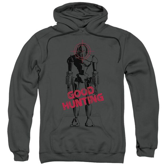 Bsg Good Hunting Adult Pull Over Hoodie
