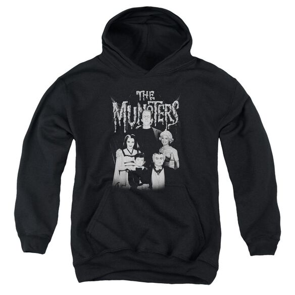 The Munsters Family Portrait Youth Pull Over Hoodie