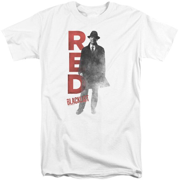 Blacklist Red Short Sleeve Adult Tall T-Shirt