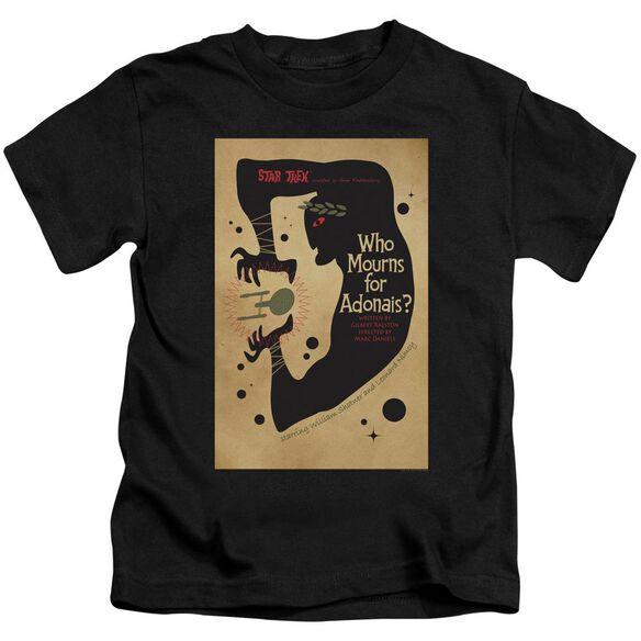 Star Trek Tos Episode 31 Short Sleeve Juvenile Black Md T-Shirt