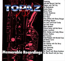 Various Artists - Topaz Jazz: Memorable Recordings