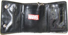 Avengers Boxed Heads Tri-Fold Chain Wallet
