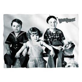 Little Rascals The Gang Pillow Case White