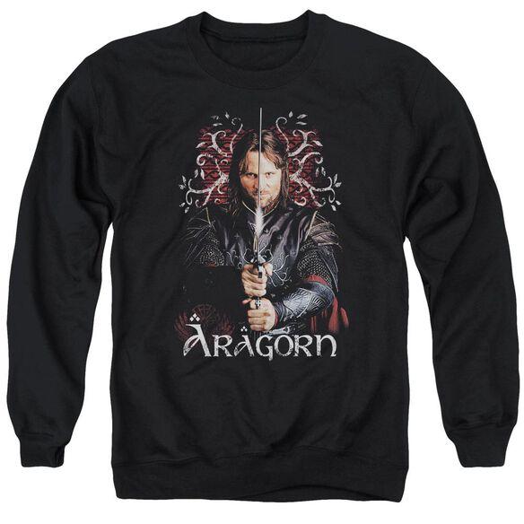 Lor Aragorn Adult Crewneck Sweatshirt