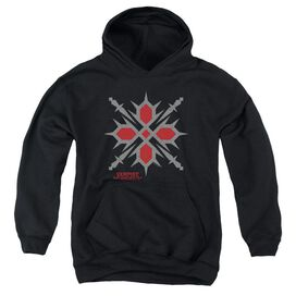 Vampire Knight Hunter Symbol Youth Pull Over Hoodie