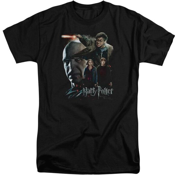 Harry Potter Final Fight Short Sleeve Adult Tall T-Shirt