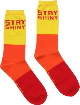 Firefly Stay Shiny Tricolor Crew Socks