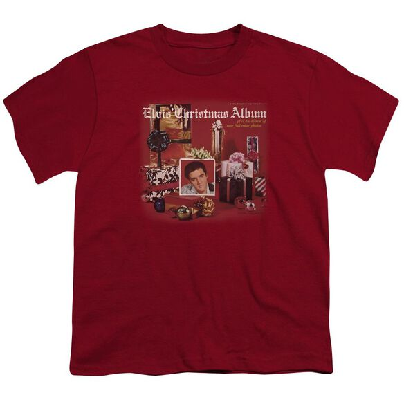 Elvis Christmas Album Short Sleeve Youth T-Shirt