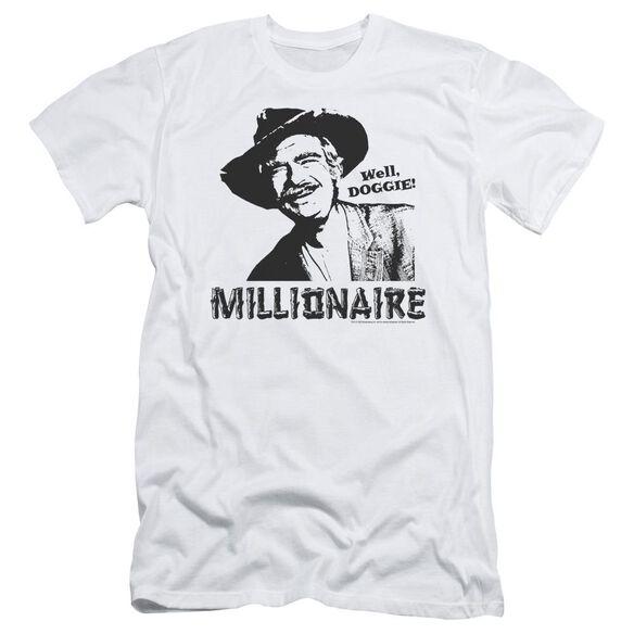 BEVERLY HILLBILLIES MILLIONAIRE - S/S ADULT 30/1 - WHITE T-Shirt