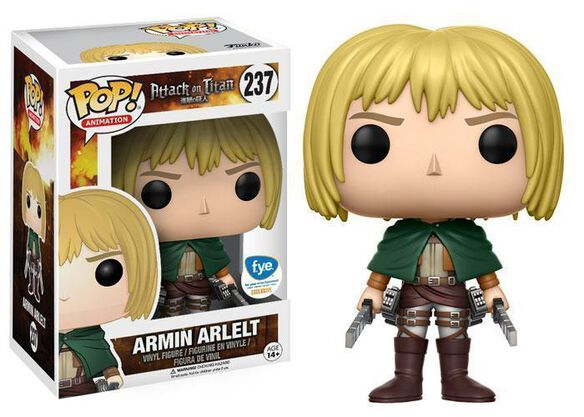 Pop Exclusive Attack on Titan Armin Arlelt