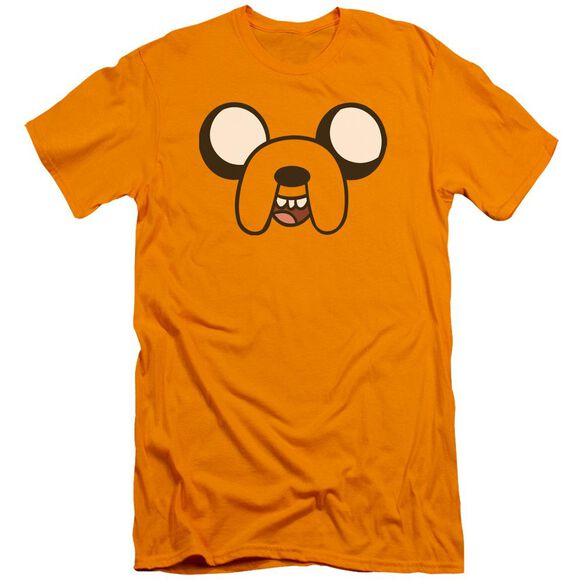 Adventure Time Jake Head Hbo Short Sleeve Adult T-Shirt