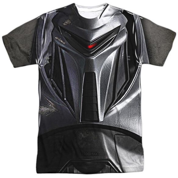 Bsg Cylon Face Short Sleeve Adult Poly Crew T-Shirt