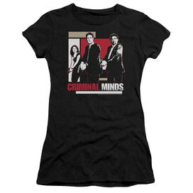 CRIMINAL MINDS GUNS DRAWN - S/S JUNIOR SHEER T-Shirt