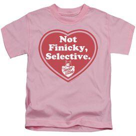 Tender Vittles Selective Short Sleeve Juvenile Pink Md T-Shirt