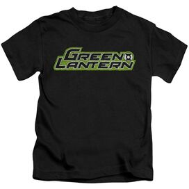 GREEN LANTERN SCRIBBLE TITLE - S/S JUVENILE 18/1 - BLACK - T-Shirt