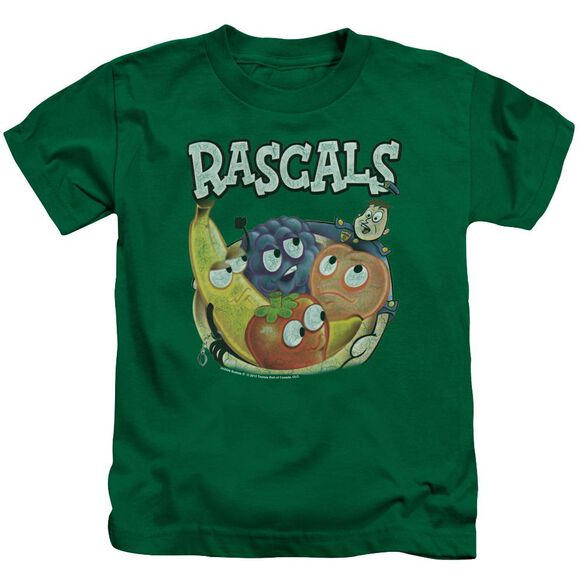 Dubble Bubble Rascals Short Sleeve Juvenile Kelly Green T-Shirt