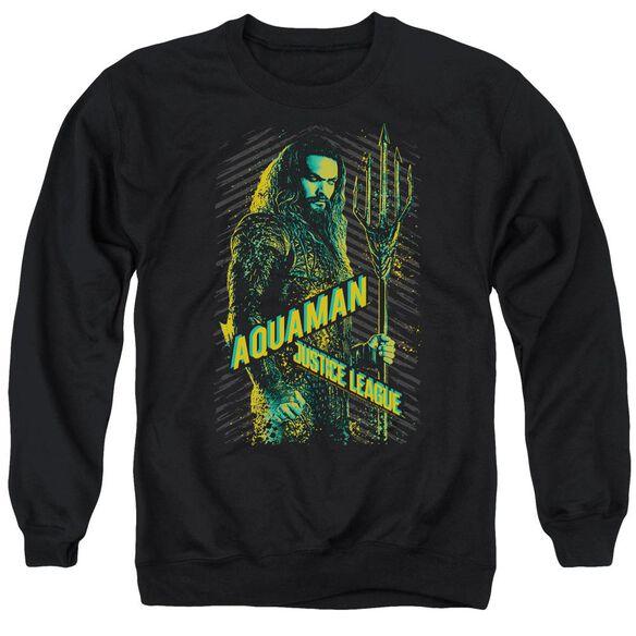 Justice League Movie Aquaman Adult Crewneck Sweatshirt