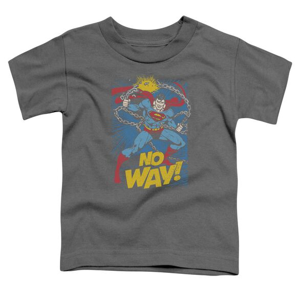 Dc No Way Short Sleeve Toddler Tee Charcoal T-Shirt