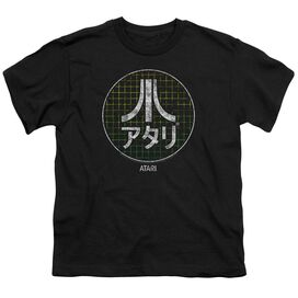 Atari Japanese Grid Short Sleeve Youth T-Shirt