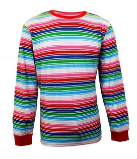 Child's Play - Chucky Stripes Long Sleeve T-Shirt
