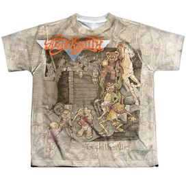 Aerosmith Toys In The Attic Short Sleeve Youth Poly Crew T-Shirt