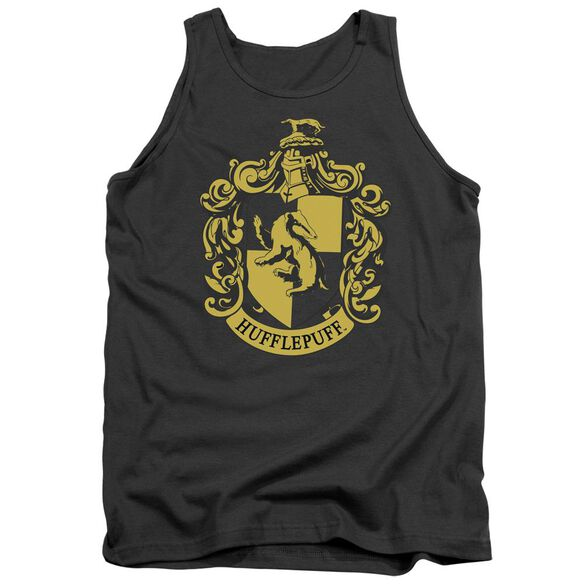 Harry Potter Hufflepuff Crest Adult Tank