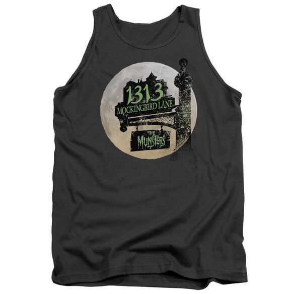 The Munsters Moonlit Address Adult Tank