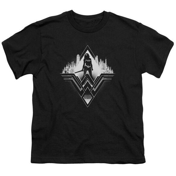 Batman V Superman City Warrior Short Sleeve Youth T-Shirt