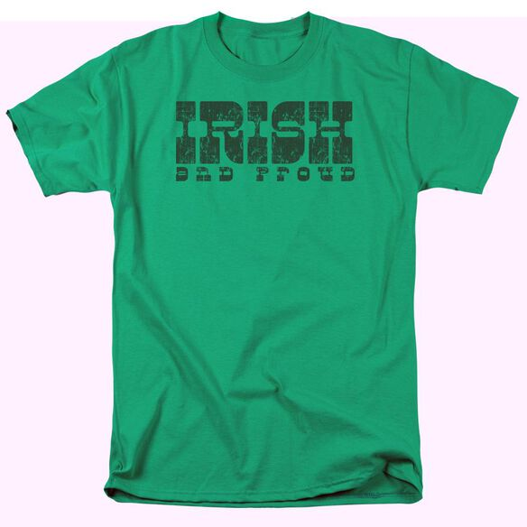IRISH AND PROUD - ADULT 18/1 - KELLY GREEN T-Shirt