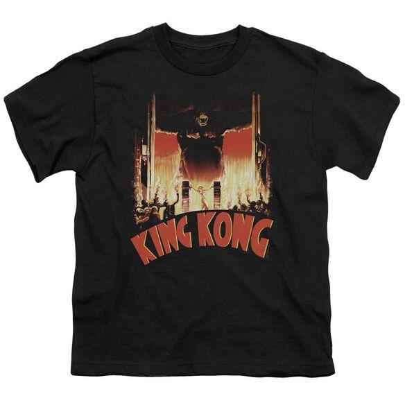King Kong At The Gates Short Sleeve Youth T-Shirt