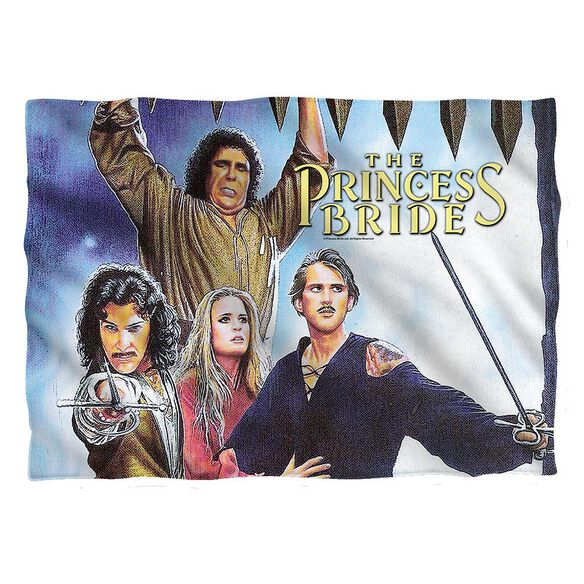 Princess Bride Alt Poster Pillow Case White