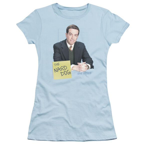 The Office The Nard Dog Short Sleeve Junior Sheer Light T-Shirt