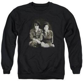 John Lennon Beret Adult Crewneck Sweatshirt