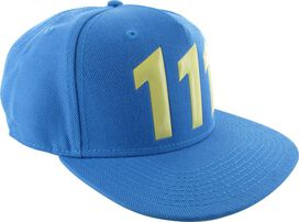 Fallout Vault 111 Snapback Hat