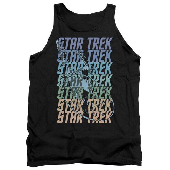 Star Trek Multi Logo Enterprise Adult Tank