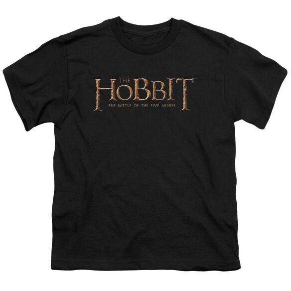 Hobbit Logo Short Sleeve Youth T-Shirt