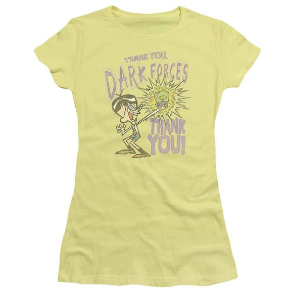 Dexter's Laboratory Dark Forces Short Sleeve Junior Sheer T-Shirt