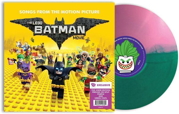 Lego Batman Movie - Lego Batman Movie [Original Motion Picture Soundtrack][Exclusive Joker Edition Lavender & Green Split Vinyl]