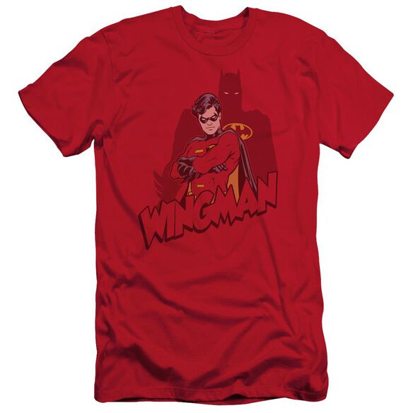 Batman Wingman Short Sleeve Adult T-Shirt