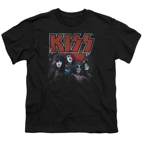 Kiss Kings Short Sleeve Youth T-Shirt