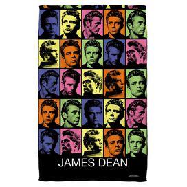 James Dean Color Block Bath Towel
